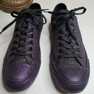 Converse CT All Star Ox Black/Grape shoe M-11 W13